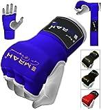 Gants d'entraînement pour la boxe marque Emrah Pro avec des doublures en gel et des bandages de protection Mitts-X pour les poings pour les arts martiaux mixtes