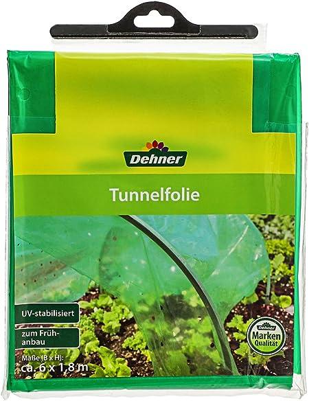 Dehner Film Tunnel pour Culture 6 x 1,8 m Plastique Vert