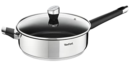 Amazon.com: Tefal E8243314 Emotion Wok Stainless Steel 43 x 27 x 10 ...