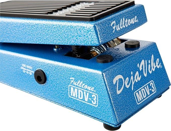 Fulltone Custom Shop MDV-3 Mini Deja Vibe Uni-Vibe Foot Pedal