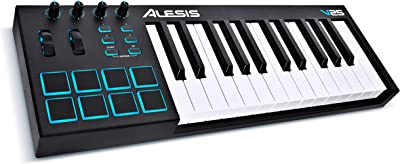 side facing alesis v25