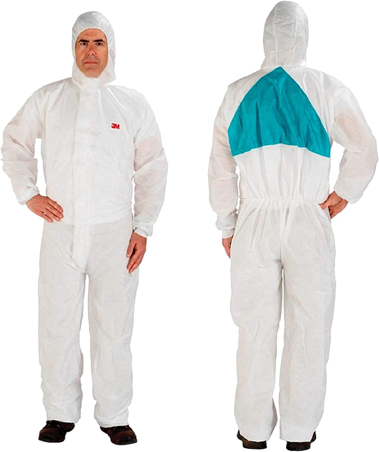 3M(TM) Disposable Protective Coverall Safety Work Wear 4520-BLK-3XL 25/Case