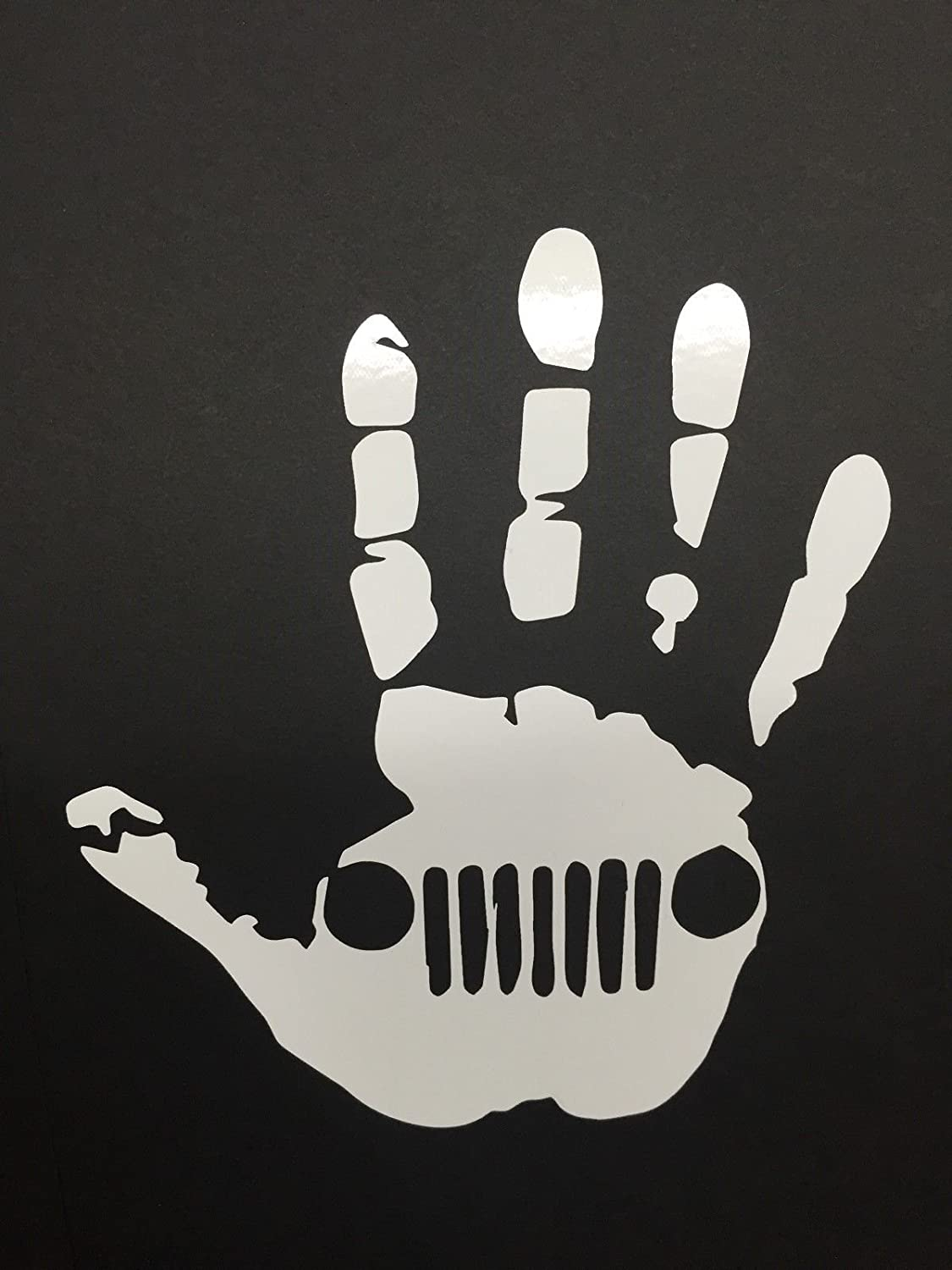 Jeep Wave Hand Decal