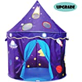 Eggsnow Kids Play Tent Castle Play Tent for Boys and Girls,Folding Toddler Tent for Indoor and Outdoor Fun Plays-Upgraded