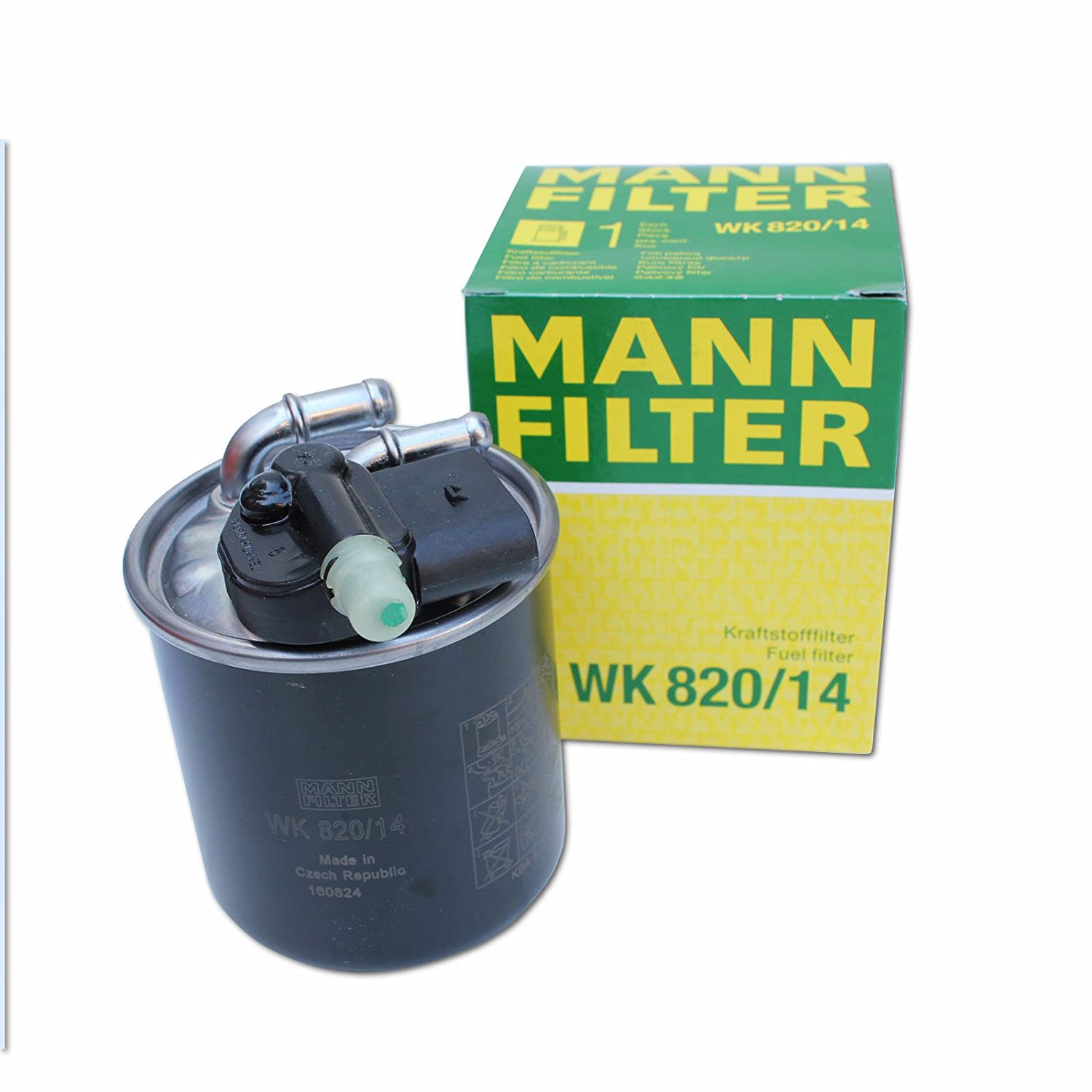 fuel filter mann wk 11030 wiring library  amazon com mann genuine replacement fuel filter wk820 14 automotive