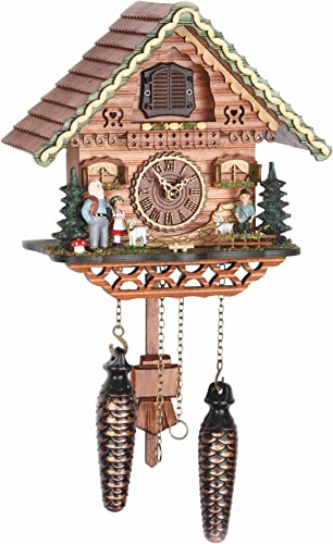 Trenkle Quartz Cuckoo Clock Swiss House with Music TU 489 QM