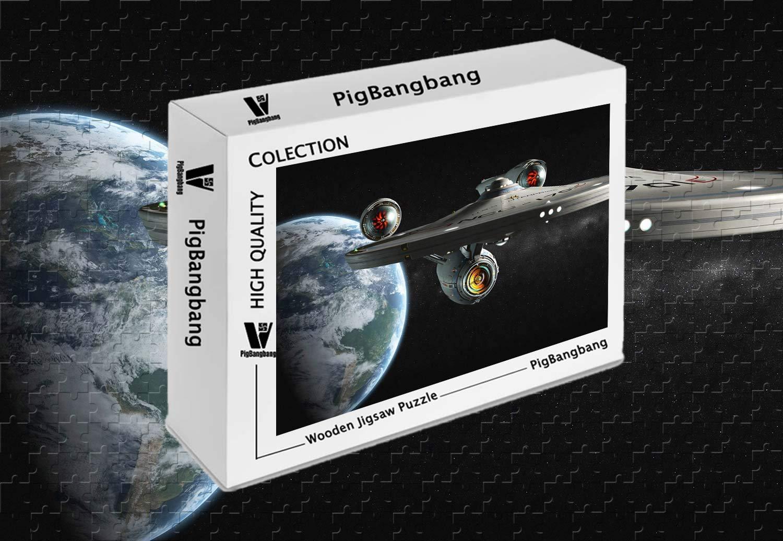 正規品販売! PigBangbang 着色アート キッズ 未来的 大人用 バスウッド X 未来的 アクション アドベンチャー 宇宙船 22.6インチ) 1500ピース ジグソーパズル (34.4 X 22.6インチ) B07HY5X1P2, ラビエ:f61d8871 --- sinefi.org.br