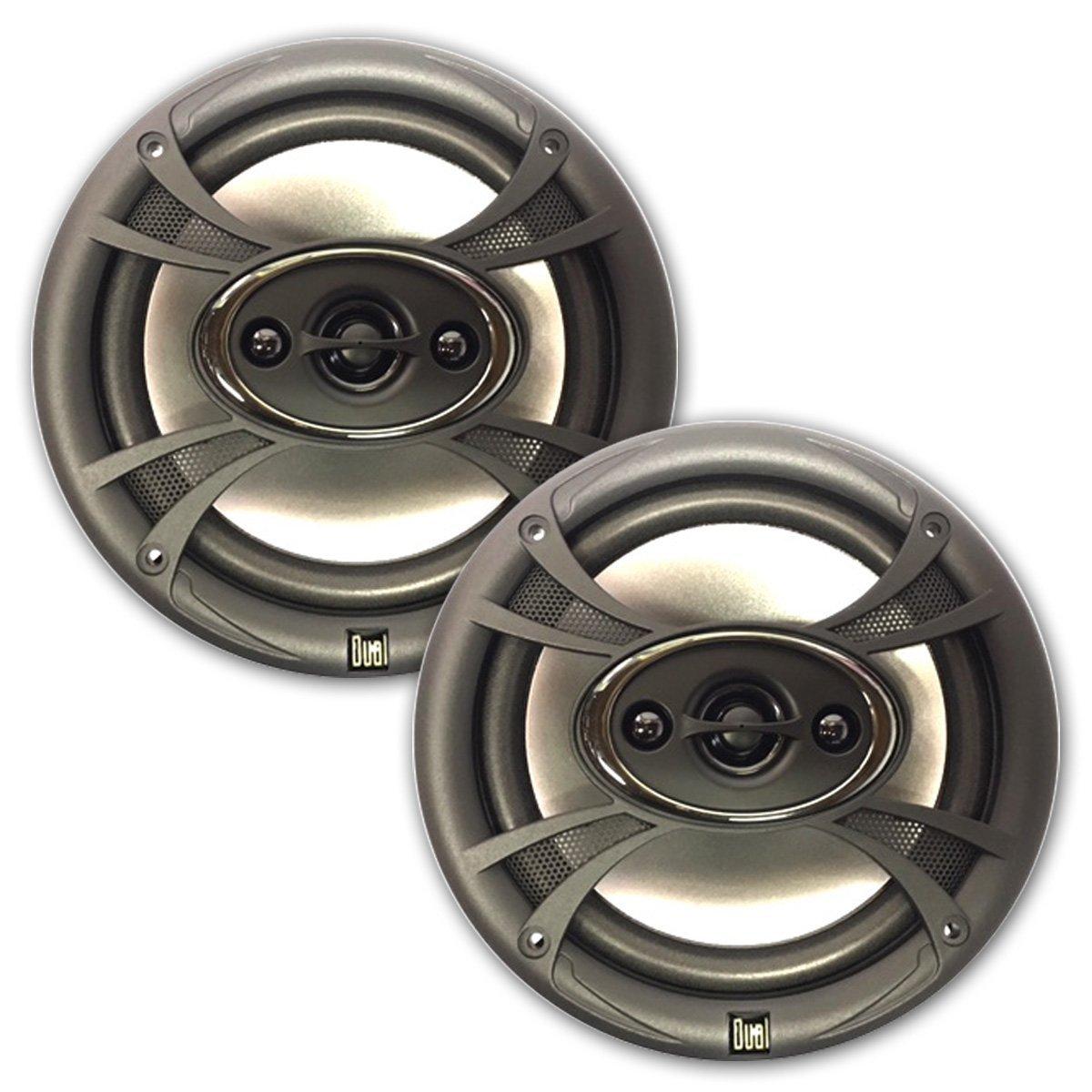 Dual Illuminite 5.25'' TS55 3-Way Speakers 135 Watts Peak Power Handling (Refurbished)