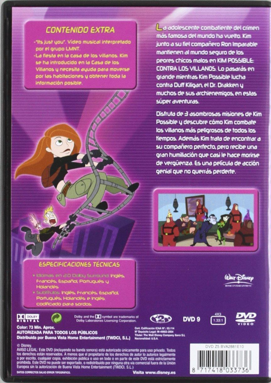 Kim Possible: Los expedientes secretos [DVD]: Amazon.es ...
