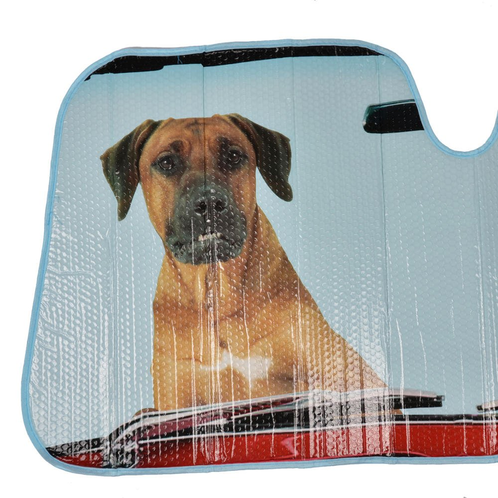 /Pet Pals/ BDK 2/Perros Auto Parabrisas Parasol para Coche SUV Cami/ón/ /L/ámina de Doble Burbuja Jumbo Plegable Acorde/ón
