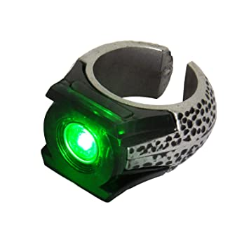 b6d1a47a93e Green Lantern Light-Up Ring  Amazon.in  Electronics