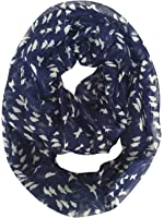 GERINLY Cute Birds Print Infinity Loop Scarf Spring Womens Scarves
