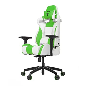 Phenomenal Vertagear S Line Sl4000 Racing Series Gaming Chair White Green Rev 2 Andrewgaddart Wooden Chair Designs For Living Room Andrewgaddartcom