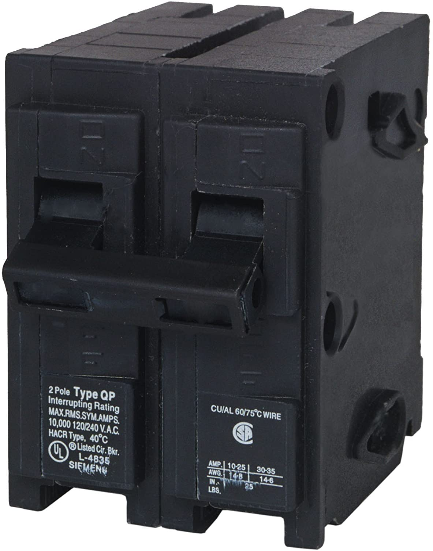 120//240 VAC NEW Type QP 20 Amp 2-Pole Siemens Q220 CIRCUIT BREAKER