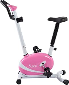 Sunny Health and Fitness Magnetic Upright Bike (Pink)