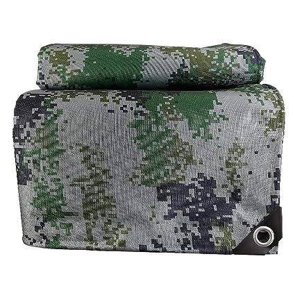 Z & YY Espesar Camuflaje de Lona Protector Solar Impermeable Impermeable cobertizo, 530 g/