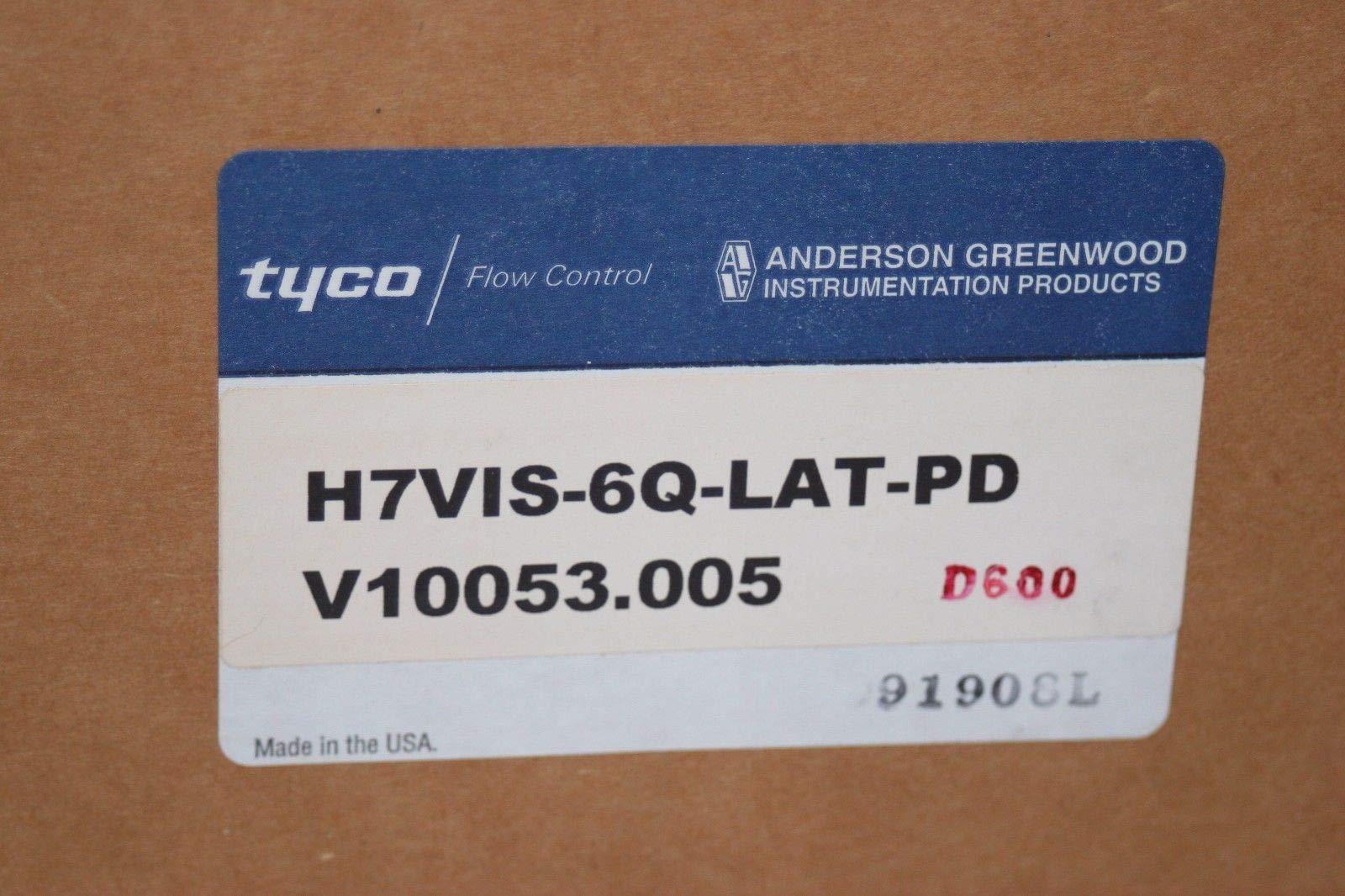 3/4'' NPT SS Needle Valve (6000 PSI @ 200F) Tyco Anderson Greenwood H7VIS-6Q-LAT-PD by 3/4'' NPT SS Needle Valve (6000 PSI @ 200F) (Image #4)
