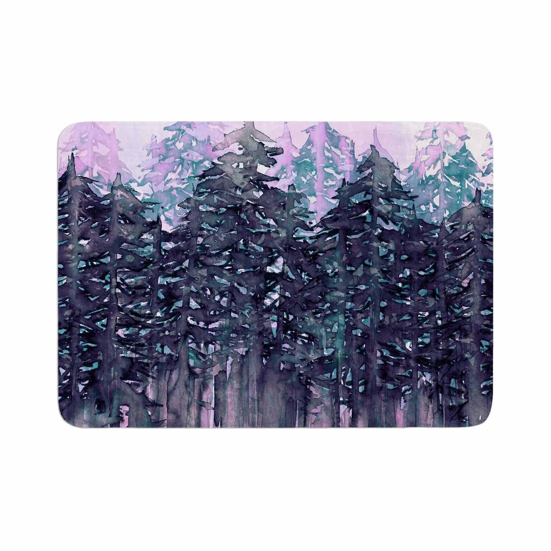 Kess InHouse EBI Emporium Northwest Vibes 5 Purple Pink Memory Foam Bath Mat 17 x 24