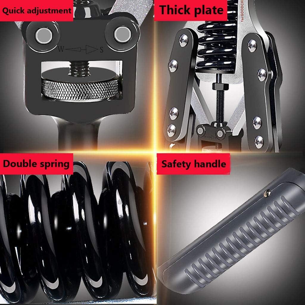 SZPDD Armst/ärke Brust Brustexpander Fitnessger/äte f/ür den Haushalt Armstange Einstellbare Geschwindigkeit Arm Brustmuskeltrainer 60Kg