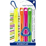 Staedtler Triplus Highlighter, Pack of 4