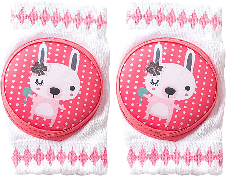 BED COTTON knieschoner baby kniesch/ützer krabbel,mit Gummipunkte anti-Rutsch,f/ür 0-2 Jahre Baby Krabbelschoner Krabbelhilfe