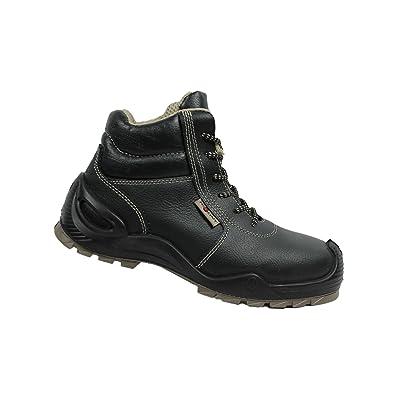 AIMONT - Calzado de protección de Piel para hombre negro negro negro Size: 45 AIMONT - Calzado de protección de Piel para hombre negro negro negro Size: 45  Botas para Mujer jsCudm