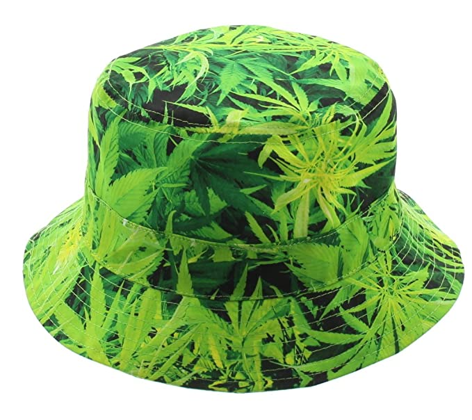 b7858726bfe 420 Weed Bucket Hat at Amazon Men s Clothing store
