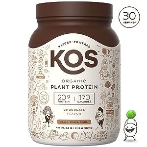 KOS Organic Plant Protein Powder