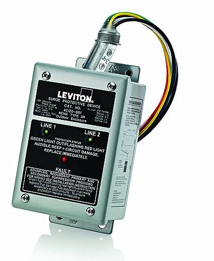 amazon com leviton 42120 1 120 240 volt single phase panel rh amazon com Wiring Leviton Receptacle Chart Wiring Leviton Receptacle Chart