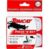 Tomcat Press 'N Set Mouse Trap, 2 Traps