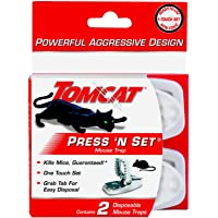 Tomcat Press 'N Set Mouse Trap
