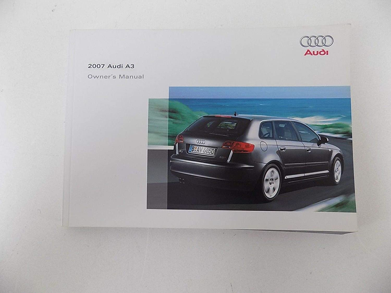 Amazon.com: Owners Manual with Case 2.0L Turbo Audi A3 2007 07: Electronics