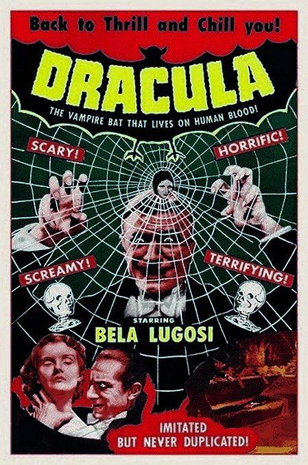 Kia Haop Dracula with Bela Lugosi Metal Fender Cartel De ...