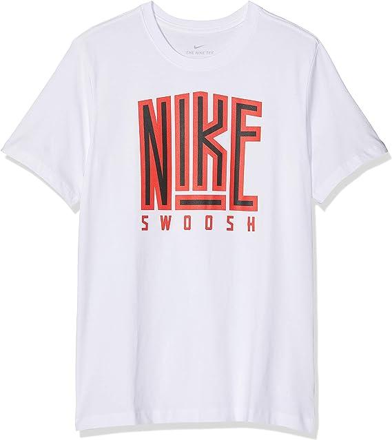 NIKE M NSW tee Swoosh BB Core - Camiseta de Manga Corta Hombre ...