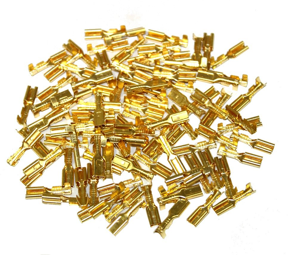 100 Kabelschuhe 2.8 mm Frauen Aerzetix