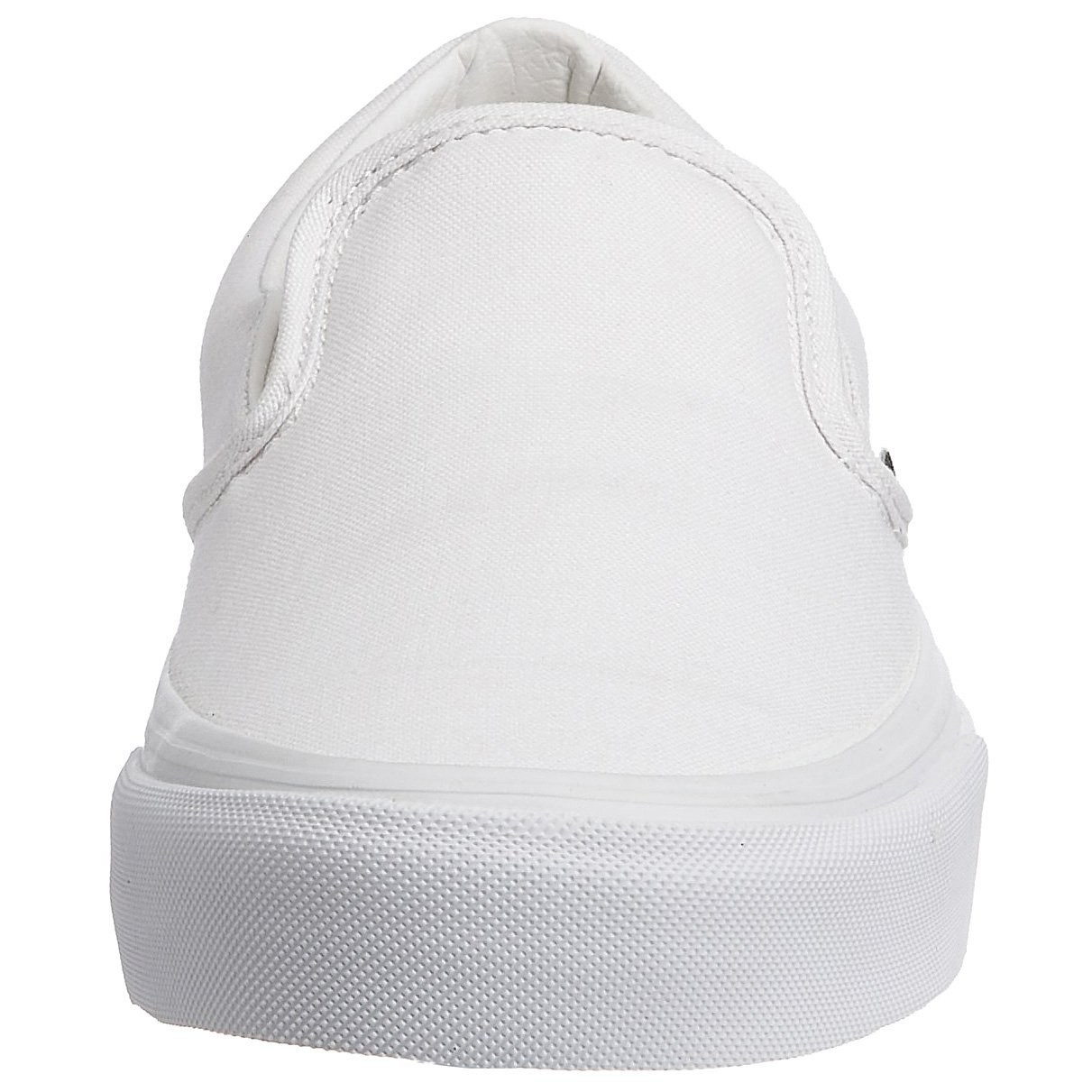 Vans Unisex Classic Slip-On(tm) Core Classics True White (Canvas) Sneaker Men's 6.5, Women's 8 Medium by Vans (Image #4)
