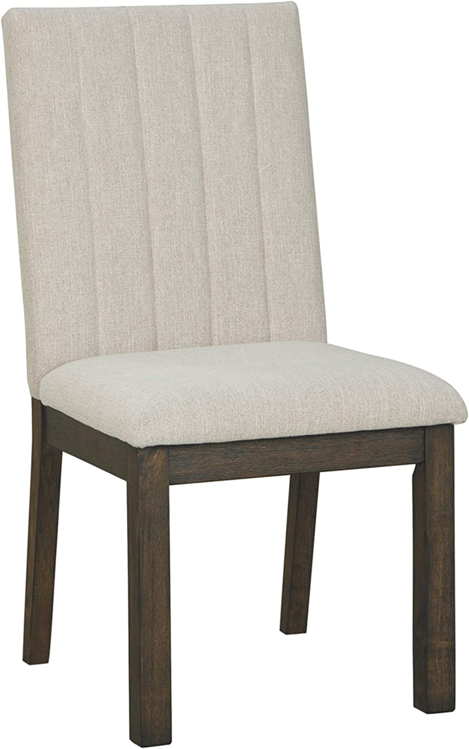 Signature Design by Ashley - Dellbeck Upholstered Dining Room Chair - Set of 2 - Beige