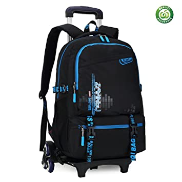e996a8c847 Amazon.com  HIGOGOGO Kids Rolling backpack
