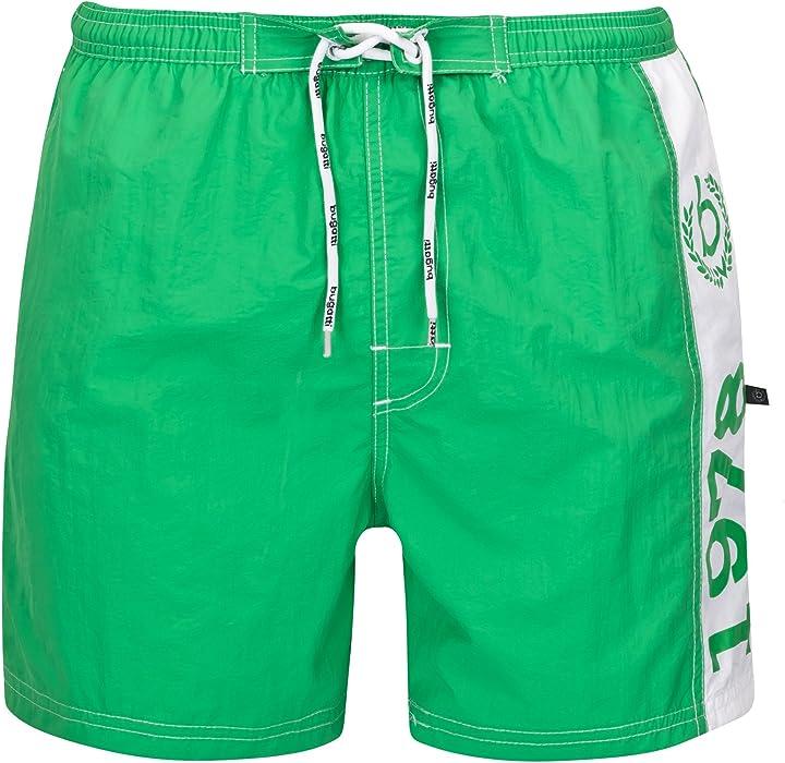 8fbefb20c9 Bugatti®, men's swimming shorts - - Small: Amazon.co.uk: Clothing
