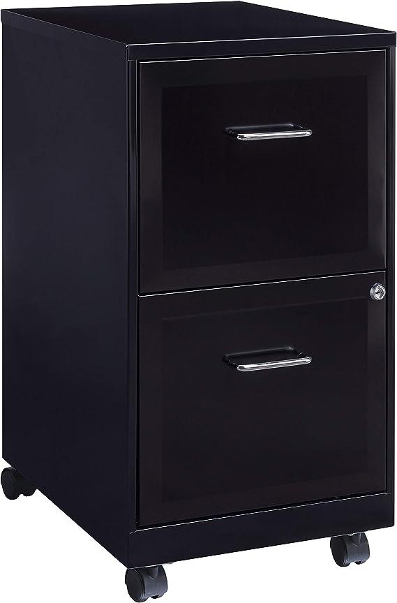 Lorell File Cabinet Black Furniture Decor Amazon Com