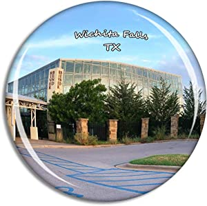 Fridge Magnet Wichita Falls River Bend Nature Center Texas USA TX Travel Souvenir Collection for Gift Home Decoration Office Whiteboard