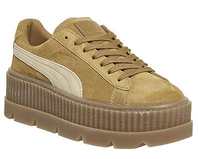 Puma 366268 02 - Zapatillas de Ante para Hombre Particle Pink/Mushroom-Sail 39 EU: Amazon.es: Zapatos y complementos