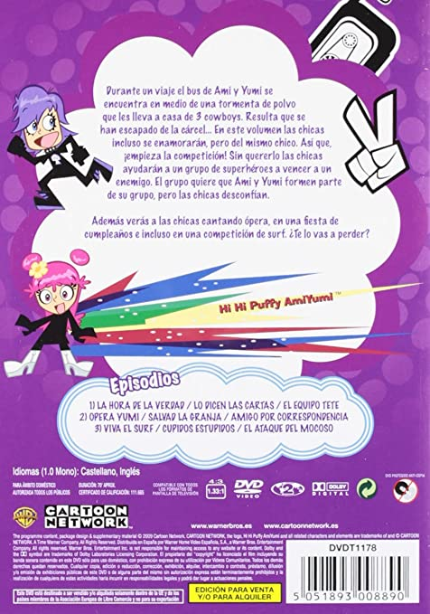 Amazon.com: Hi Hi Puffy Ami Yumi.Temp.1 V. (Import Movie ...