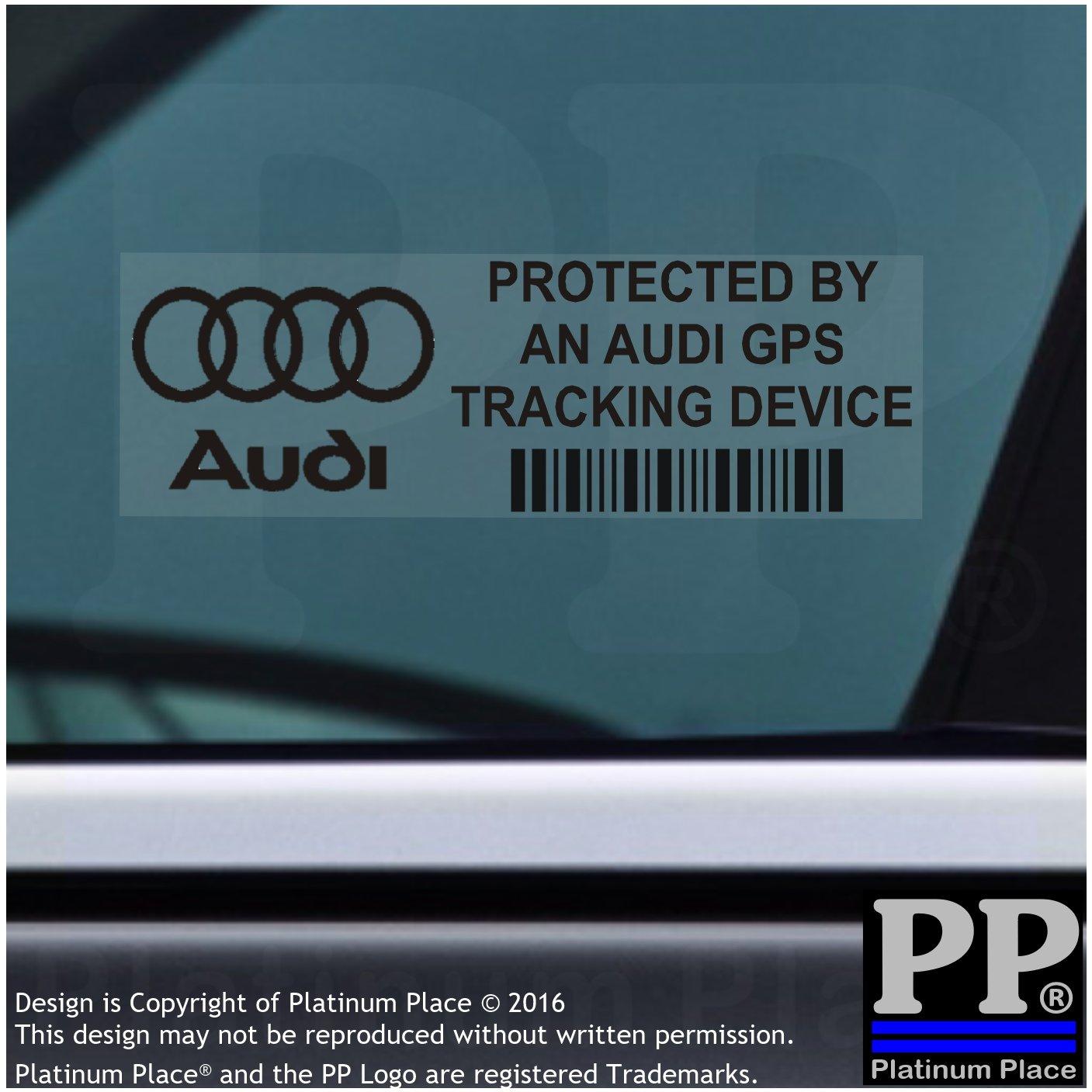 Pegatinas de advertencia de dispositivo de rastreo GPS para coche, 87 x 30 mm, 5 unidades, texto en inglés: Amazon.es: Coche y moto