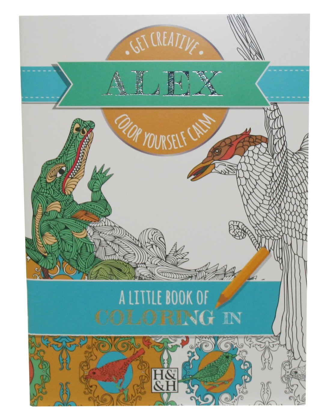 Personalized Coloring Books 203000041 Alex Drawing Book