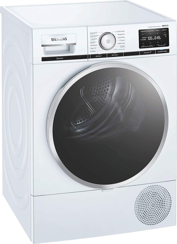 Siemens WT7YH701 8 kg A+++ Wärmepumpentrockner AutoDry Knitterschutz
