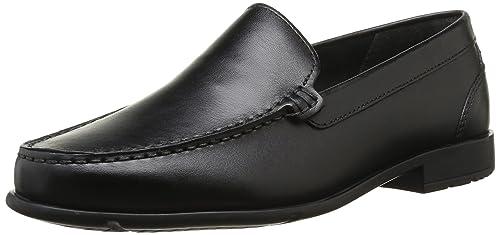 Rockport CLASSIC LOAFER VENE BLACK V76191 - Zapatos de cuero para hombre, color negro, talla 40.5, Negro (Noir (Black)), EU 45 (US 11)