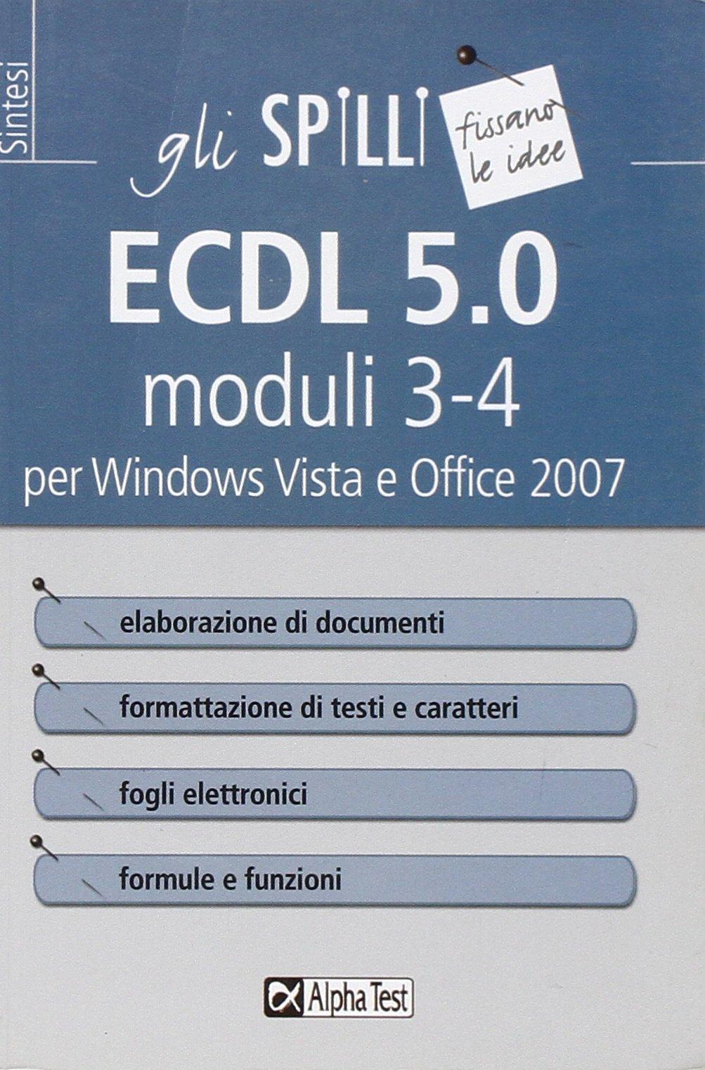 Nuova ECDL – Modulo 3 (elaborazione testi) (Italian Edition)
