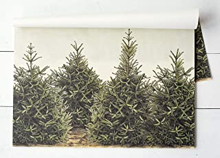 product image for Hester & Cook Fir Trees Check Paper Placemat, 24 Sheets