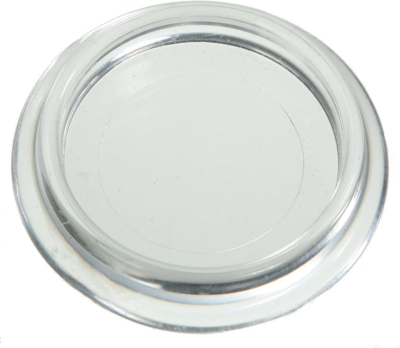 Möbeluntersetzer 50mm Durchmesser glasklar im 10er Pack